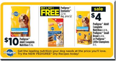 Dollar General Pedigree Dog Food Just 1 The Centsable Shoppin