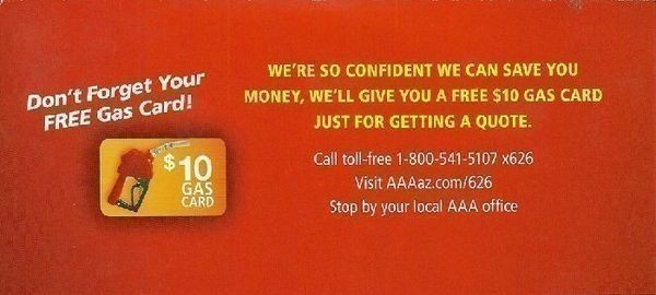 AAA AZ FREE 60 Shell Gas Card With Quote The CentsAble Shoppin Impressive Aaa Quote