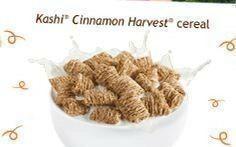 Kashi® golean peanut butter crunch cereal.
