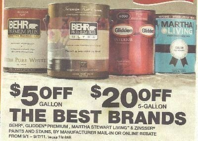Behr Paint Sale Labor Day