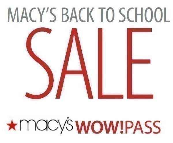 16cfd9895 Go HERE to grab a 15% off WOW Pass for Macy's, for 4-7 August. I remember  some of you asking for a Macy's coupon earlier today on Facebook