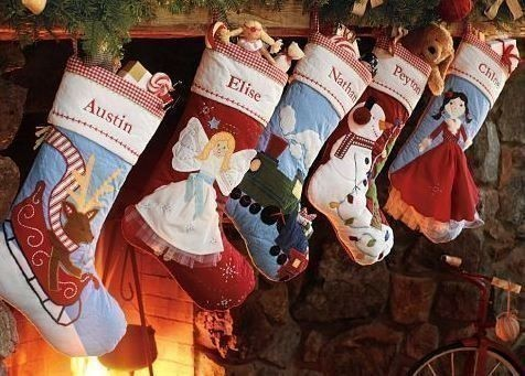Pottery Barn: Kids Quilted Christmas Stockings just $9.99 + FREE ... : pottery barn kids quilted stocking - Adamdwight.com