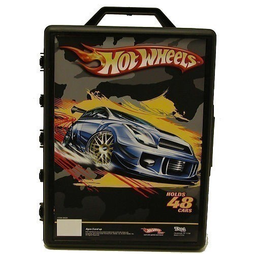 Toys R Us 20 Hot Wheels Cars 48 Car Carry Case Just 10 90 In