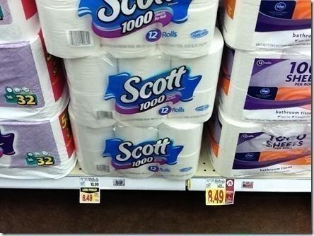 scott toilet paper hot deal at frys 003 sq ft