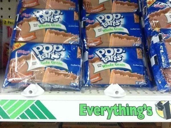$1/2 Kelloggs Pop Tarts (6 pk only $ 50 at Dollar Tree