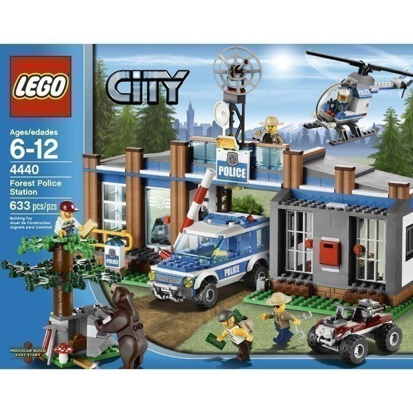 Amazon Lego City Forrest Police Station 55 Reg 80 The