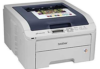 Staples Brother Refurbished Color Laser Printer 99