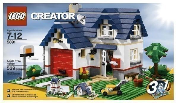 Amazon Lego Creator Apple Tree House 539 Pieces