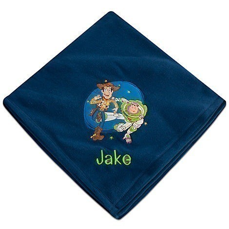 The Disney Store: Personalized Fleece Character Blankets