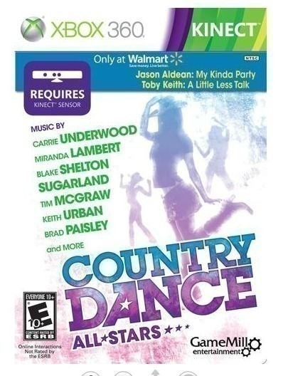 Walmart: Country Dance All Stars for Xbox 360 Kinect $14