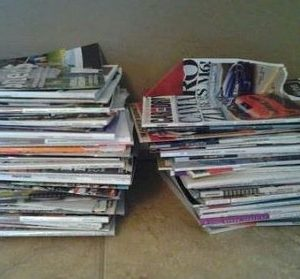 Donating and Recycling those FREE Magazines and Turning Them Into Credit