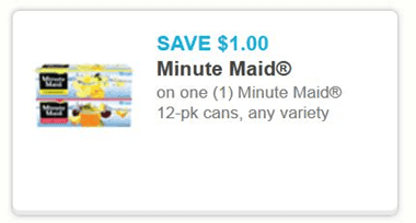 Chuckie Cheese Minute Maid Coupons http://www.thecentsableshoppin.com/rare-11-minute-maid-12-pk-cans-may-not-last/