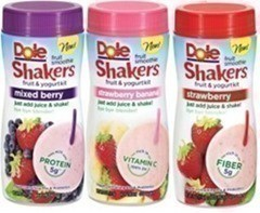 Safeway: NEW Dole Smoothie Shakers Catalina (as low as $.34 ea.)