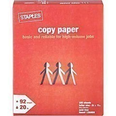 Staples: 1 FREE Ream of 8.5×11 Copy Paper thru 5/25 (After Rebate)