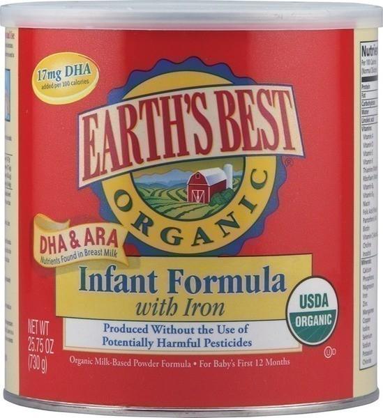 Earth's best infant formula coupon