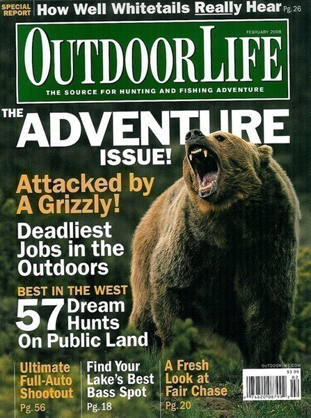 Free 1 year subscription to outdoor life magazine hunting for Hunting and fishing magazine