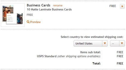 Moo 10 Free Custom Business Cards Free Shipping Great For