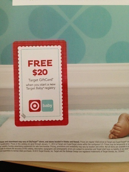 Check your Mail | FREE $20 Target Gift Card when you Start a New ...
