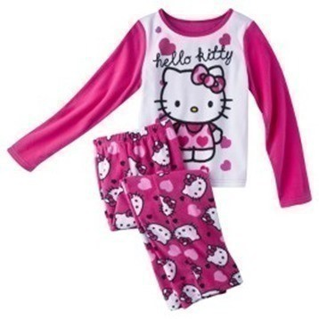 956e86397 Today only, you can score Hello Kitty, or Disney Planes 2pc Pajama Sets for  kids for just $11.99