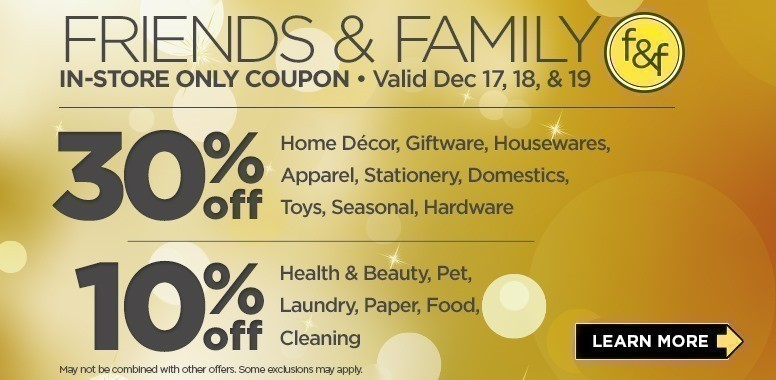 Score A New Offer For Dollar General Save 30 Off Home Decor Giftware Housewares Apparel Stationary Domestics Toys Seasonal And Hardware In Store