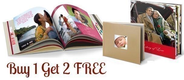 Snapfish Buy 1 Get 2 FREE Photo Book