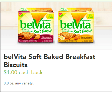 Nabisco belvita coupons