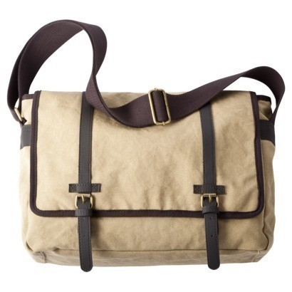 If You Have A Target Red Card This Is Super Deal Pick Up Khaki Merona Men S Messenger Bag For 6 99 It Ships Free With 4 Without