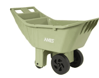 Home Depot: Ames 4 cu ft Poly Lawn Cart $19.88 + FREE Pick Up