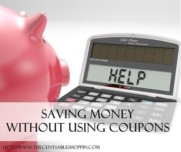 Save Money Without Using Coupons - The CentsAble Shoppin