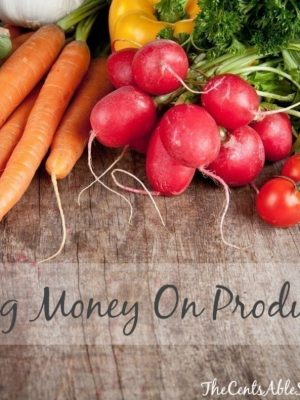 How to Save Money on Produce | 8 Simple Tips