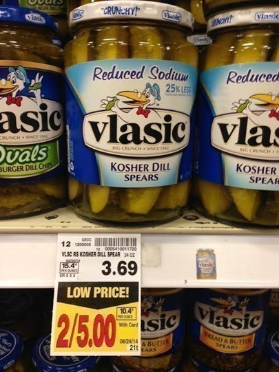 walmart vlasic deal Walmart coupon deals: january 29, 2012 january 29, 2012 by mindi cherry as a reminder: walmart does not double coupons walmart price: vlasic ovals.