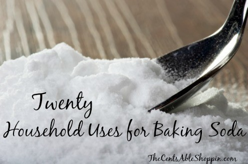 20 Household Uses for Baking Soda - The CentsAble Shoppin