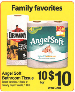 Fry S Free Angel Soft Toilet Paper Amp Brawny Just 25