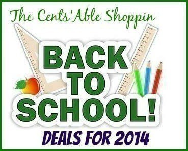 Back To School Deals 2014 - The CentsAble Shoppin