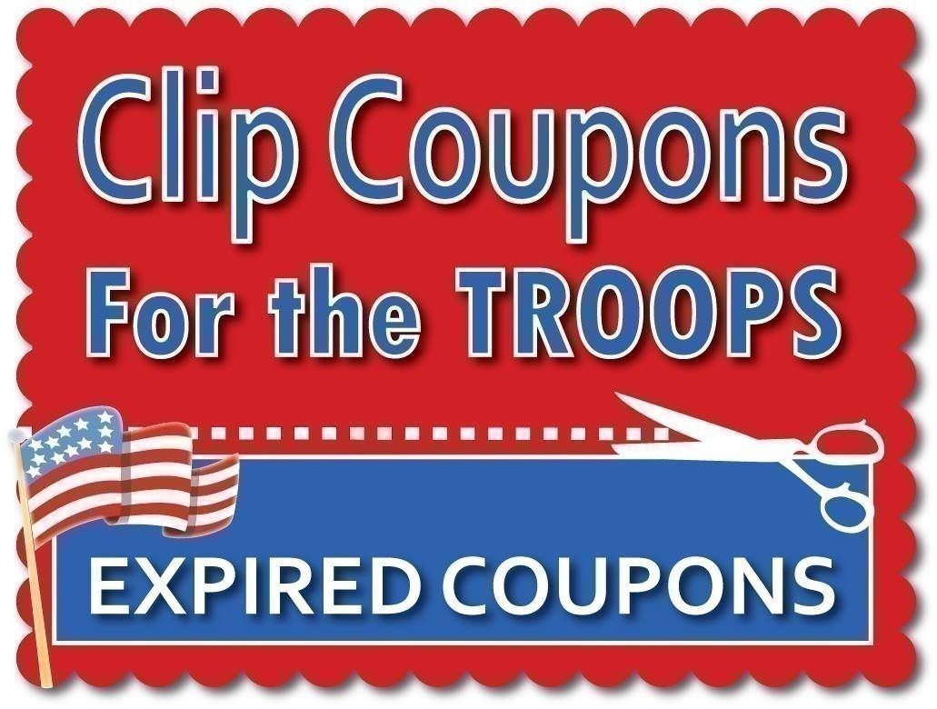Clip Coupons for the Troops