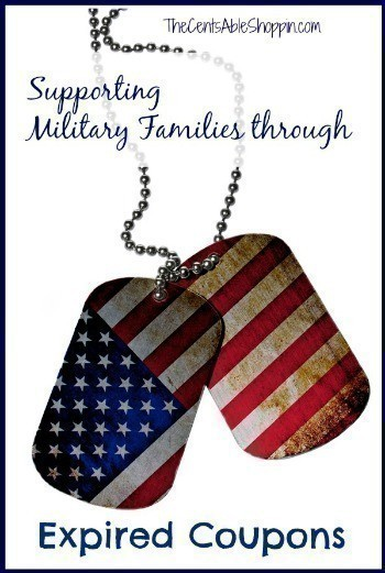 Supporting Military Families through Expired Coupons
