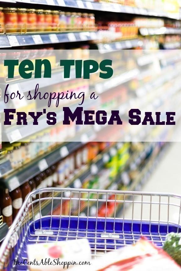 Fry's Mega Sale Tips
