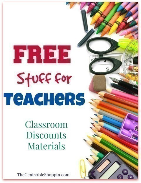 Free Stuff for Teachers - The CentsAble Shoppin