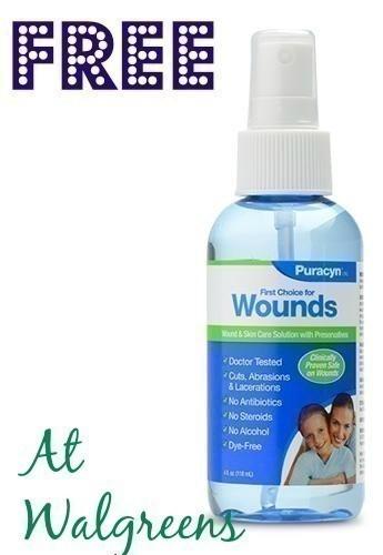 FREE Puracyn Wound Care at Wal...