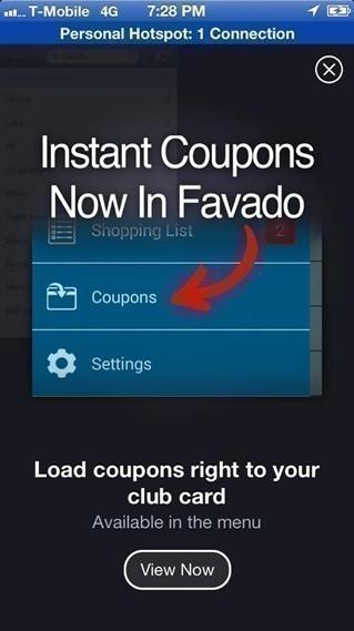 Favado coupons