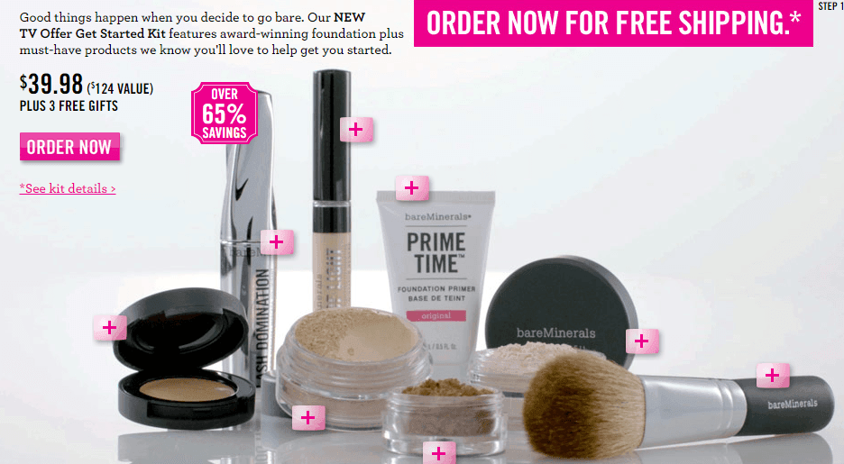 bareMinerals: FREE Shipping on ANY Order + FREE Sample + FREE Full ...