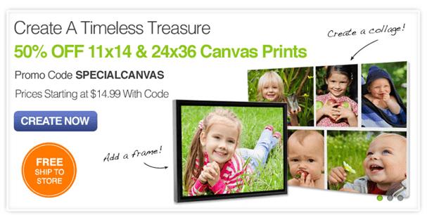 CVS Canvas Photo Promo