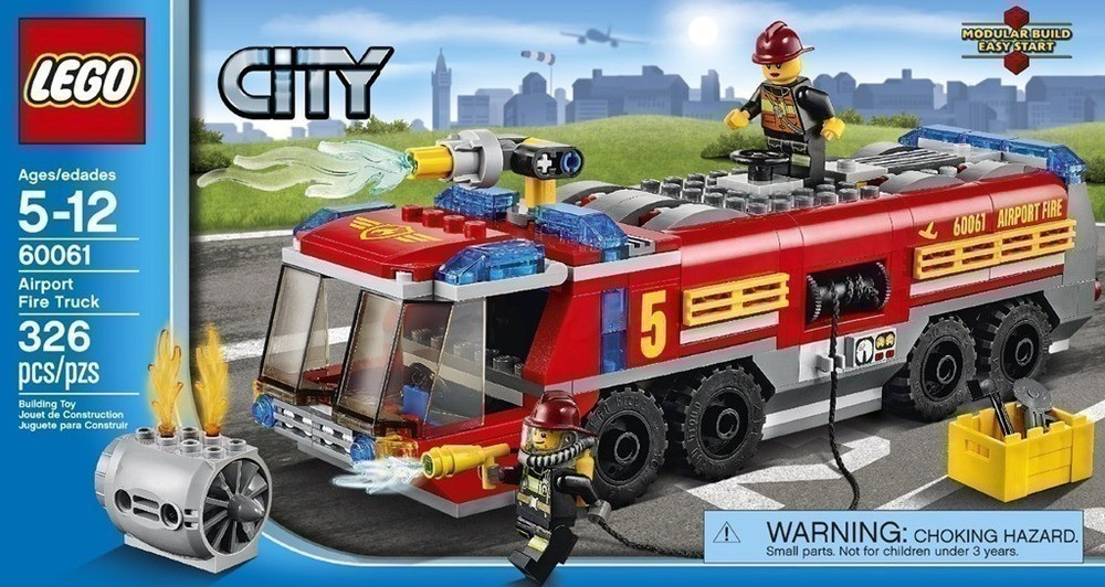 Amazon Lego City Great Vehicles Airport Fire Truck 24 The