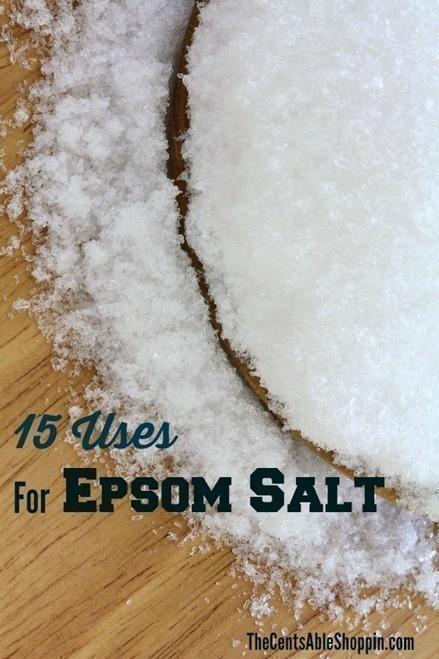 Epsom Salt - 15 Uses