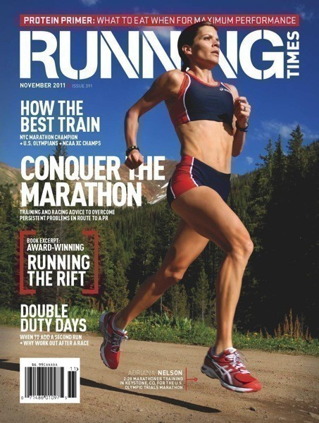 RT Nelson Running Times Cover