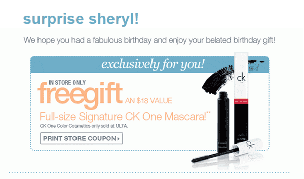 Are You Signed Up To Receive Email Updates From ULTA If Not Can Score A FREE Full Size Mascara