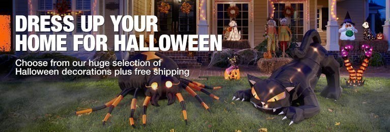 Home depot free shipping on halloween decorations inflatables as low as Halloween decorations home depot