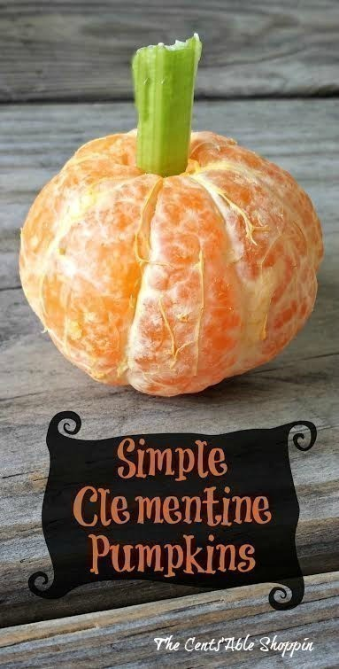 Simple Clementine Pumpkins