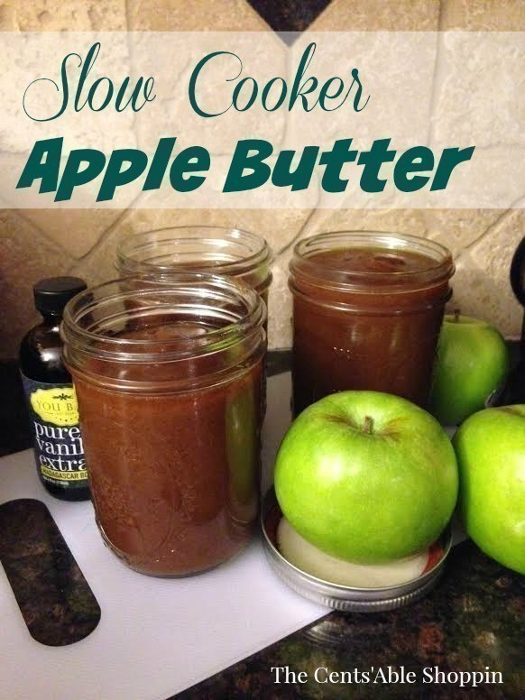 Slow Cooker Apple Butter - YUM