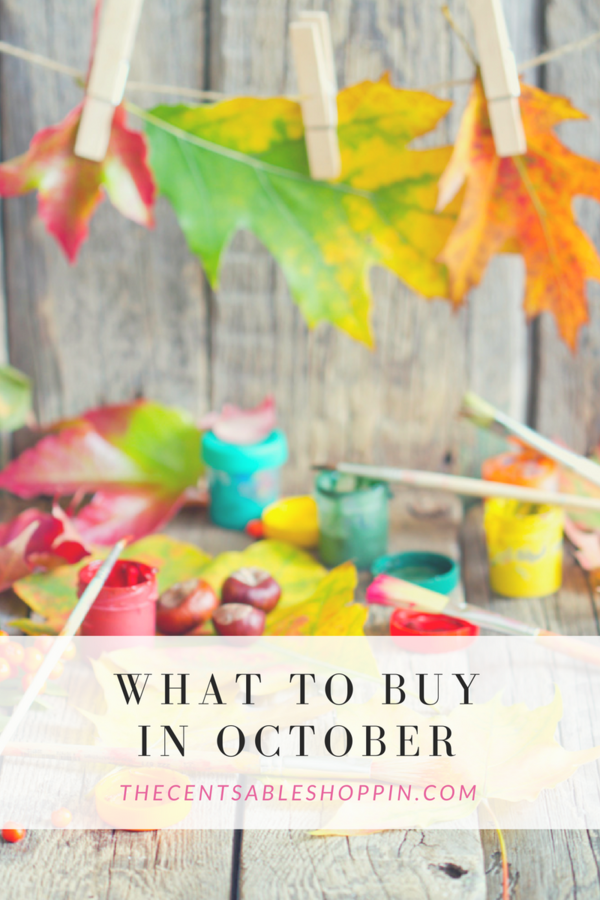 What to Buy in October